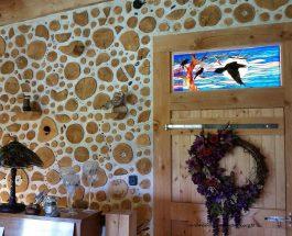 Cordwood – budowanie z polan opałowych