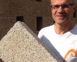 Budowanie z konopi w oczach francuskiego murarza [WYWIAD]
